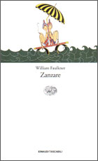 Copertina del libro Zanzare di William Faulkner
