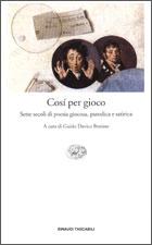 Copertina del libro Cosí per gioco di VV.