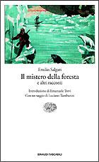 Copertina del libro Il mistero della foresta di Emilio Salgari