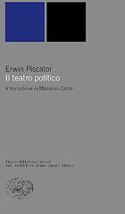 Copertina del libro Il teatro politico di Erwin Piscator