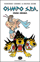 Copertina del libro Olimpo S.p.A. Caccia grossa di Vincenzo Cerami, Silvia Ziche