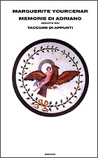 Copertina del libro Memorie di Adriano di Marguerite Yourcenar