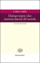 Copertina del libro Dialogo sopra i due massimi sistemi del mondo di Galileo Galilei