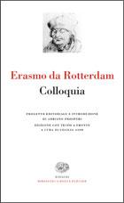 Copertina del libro Colloquia di Erasmo da Rotterdam