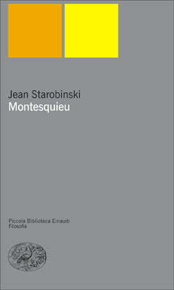 Copertina del libro Montesquieu di Jean Starobinski