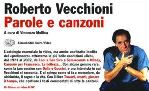 Copertina del libro Parole e canzoni di Roberto Vecchioni