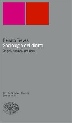 Copertina del libro Sociologia del diritto di Renato Treves