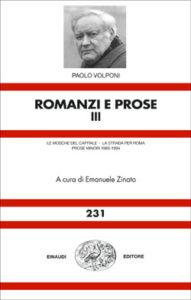 Copertina del libro Romanzi e prose III di Paolo Volponi