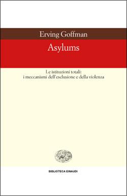 Copertina del libro Asylums di Erving Goffman