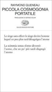 Copertina del libro Piccola cosmogonia portatile di Raymond Queneau