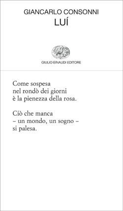Copertina del libro Luí di Giancarlo Consonni