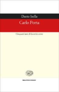 Copertina del libro Carlo Porta di Dante Isella