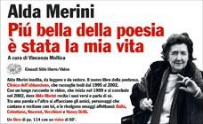 Copertina del libro Più bella della poesia è stata la mia vita di Alda Merini