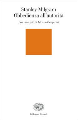 Copertina del libro Obbedienza all'autorità di Stanley Milgram