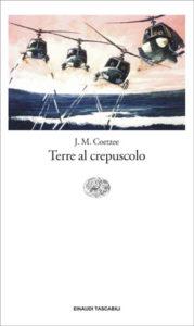 Copertina del libro Terre al crepuscolo di J. M. Coetzee