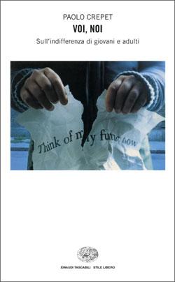 Copertina del libro Voi, noi di Paolo Crepet
