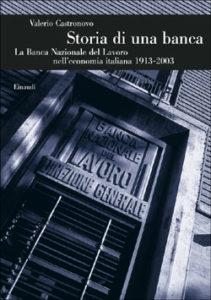 Copertina del libro Storia di una banca di Valerio Castronovo