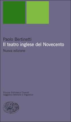 Copertina del libro Il teatro inglese del Novecento di Paolo Bertinetti