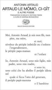 Copertina del libro Artaud le Mômo, Ci-gît di Antonin Artaud