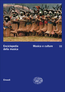 Copertina del libro Enciclopedia della musica. III. Musica e culture di VV.