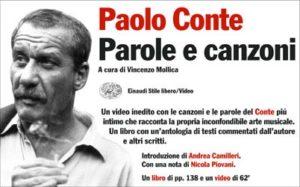 Copertina del libro Parole e canzoni di Paolo Conte