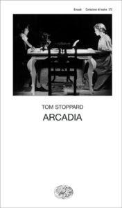 Copertina del libro Arcadia di Tom Stoppard