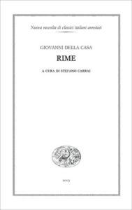 Copertina del libro Rime di Giovanni Della Casa