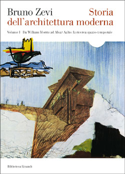 Copertina del libro Storia dell'architettura moderna I di Bruno Zevi