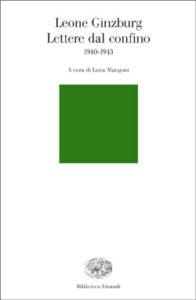 Copertina del libro Lettere dal confino di Leone Ginzburg