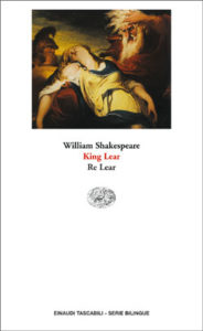 Copertina del libro King Lear. Re Lear di William Shakespeare