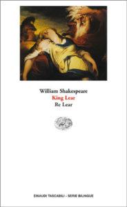 Copertina del libro King Lear. Re Lear di William Shakespeare
