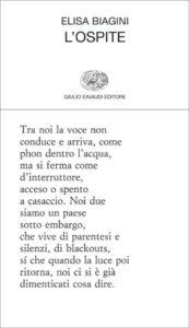 Copertina del libro L'ospite di Elisa Biagini