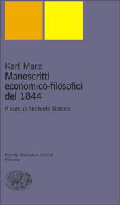Copertina del libro Manoscritti economico-filosofici del 1844 di Karl Marx