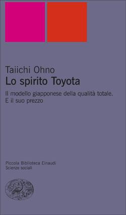 Copertina del libro Lo spirito Toyota di Taiichi Ohno