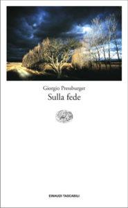 Copertina del libro Sulla fede di Giorgio Pressburger
