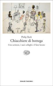 Copertina del libro Chiacchiere di bottega di Philip Roth