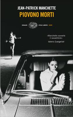 Copertina del libro Piovono morti di Jean-Patrick Manchette