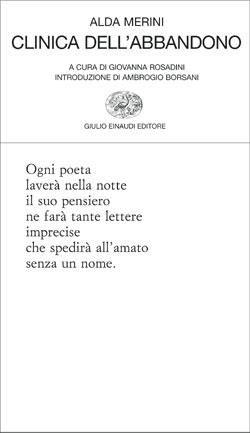 Copertina del libro Clinica dell'abbandono di Alda Merini