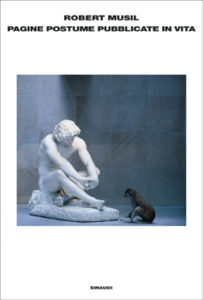 Copertina del libro Pagine postume pubblicate in vita di Robert Musil