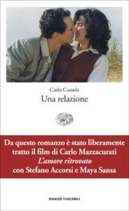Copertina del libro Una relazione di Carlo Cassola