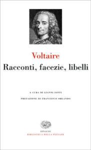 Copertina del libro Racconti, facezie, libelli di Voltaire