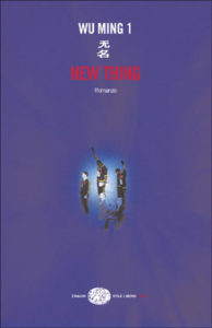 Copertina del libro New Thing di Wu Ming 1