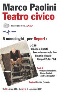 Copertina del libro Teatro civico di Marco Paolini