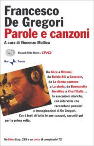 Copertina del libro Parole e canzoni di Francesco De Gregori
