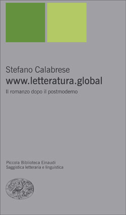 Copertina del libro www.letteratura.global di Stefano Calabrese