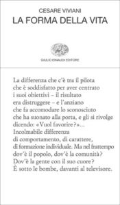 Copertina del libro La forma della vita di Cesare Viviani