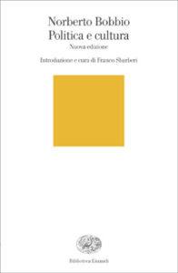Copertina del libro Politica e cultura di Norberto Bobbio