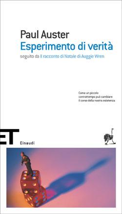 Copertina del libro Esperimento di verità di Paul Auster