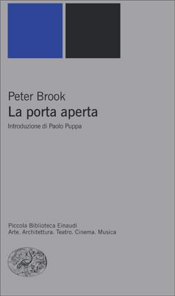Copertina del libro La porta aperta di Peter Brook