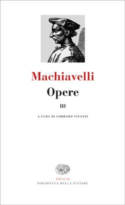 Copertina del libro Opere. III di Niccolò Machiavelli